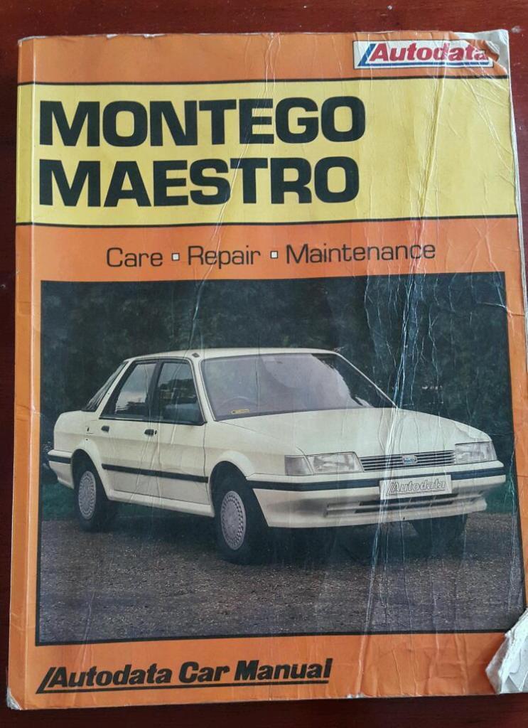 Autodata Austin Montego Maestro 84 To 88 In Handsworth