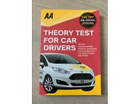 AA Theory Test For Drivers - paperback book