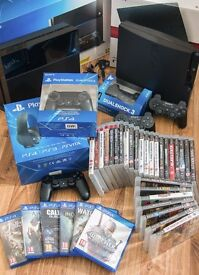 Used PlayStation 4 & PlayStation 3 + games and accessories