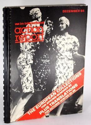80s Fashion 1984 IM International Fashion Forecasting Report Spring Winter 1985