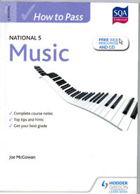How To Pass National 5 Music by Hodder Gibson with CD