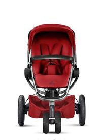 Quinny Buzz Xtra Pushchair - Red Rumour (Silver Chassis)
