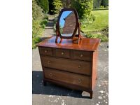 Stag Minstrel Wardrobe and Chest