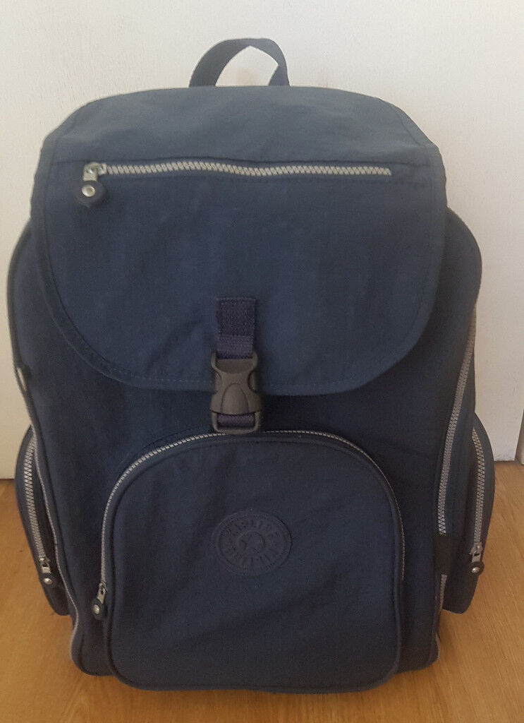 d9a352adf3 Backpack and Cabin Trolley suitcase made by Kipling   in Wood ...