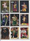 Kevin Durant Lot Seattle Supersonics Basketball Cards