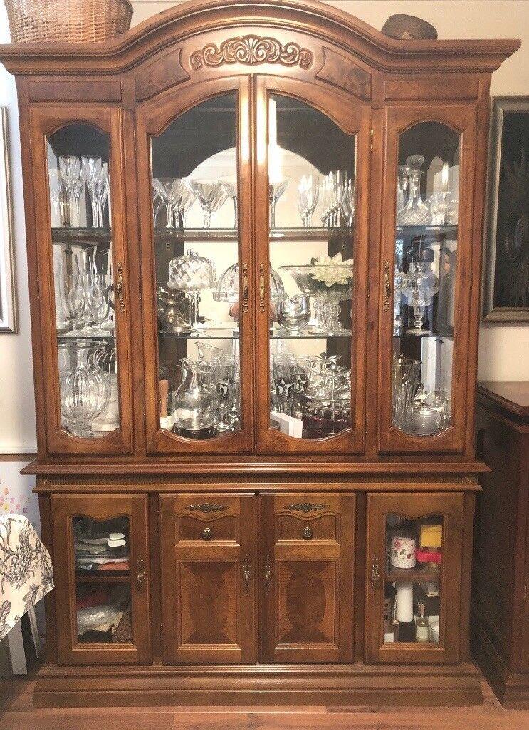 Dining Room China Dresser Cabinet