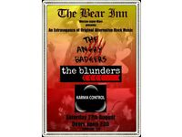 An exttravagnza of Alternative Rock @ The Bear Weston-super-Mare
