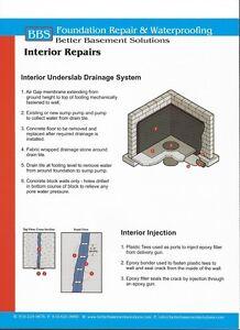 BBS Foundation Repair and Waterproofing Cambridge Kitchener Area image 2