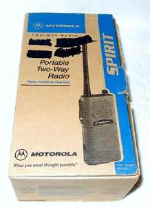 Motorola Spirit Two-Way Portable Radio P24WUT20F2AA Factory Warehouse Schools ++