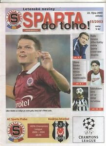 Orig-PRG-Champions-League-03-04-SPARTA-PRAG-BESIKTAS-ISTANBUL-RARE