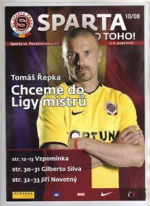 Orig-PRG-Champions-League-08-09-SPARTA-PRAG-PANATHINAIKOS-ATHEN-RARE