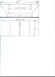 kitchen cupboard and counter Cambridge Kitchener Area image 3