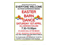 EASTER BARN DANCE