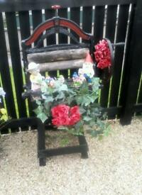 Old mangle garden feature
