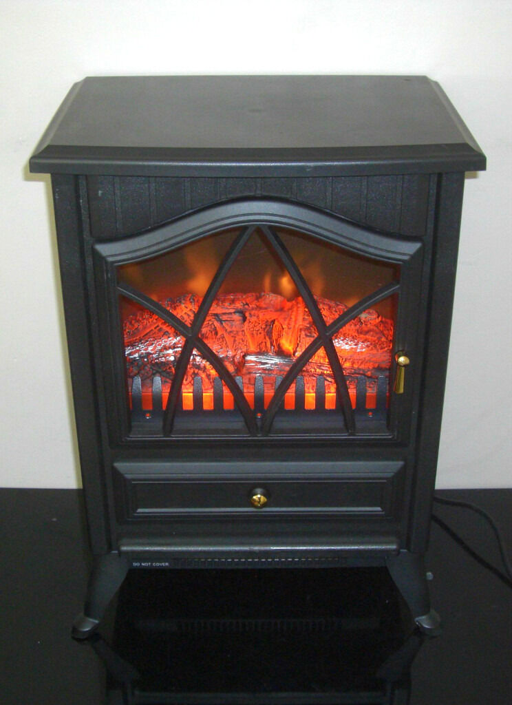 Dunelm Electric Stove Fire Heater Warm Amp Cosy Nice Effect