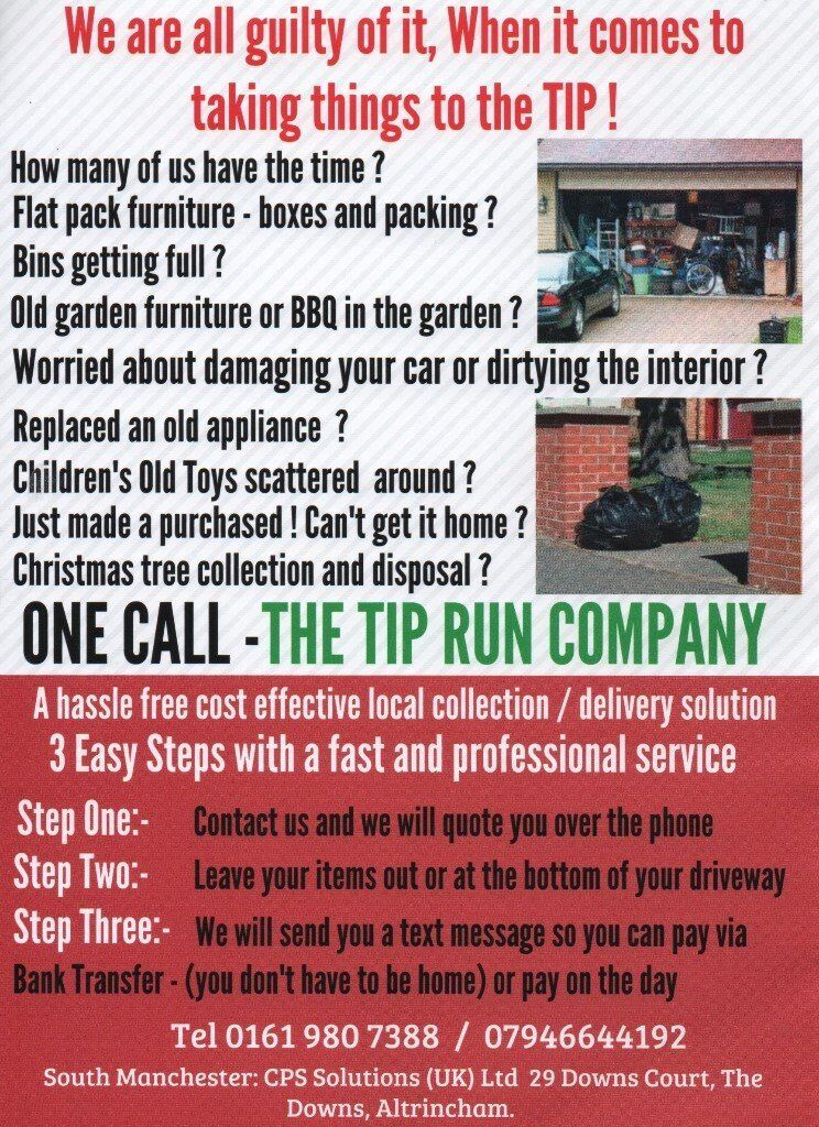 ONE CALL - The Tip Run Company