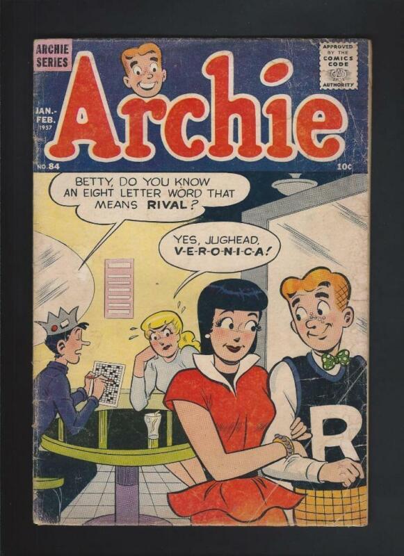 Archie Comics 84 GD/VG 3.0 High Res Scans