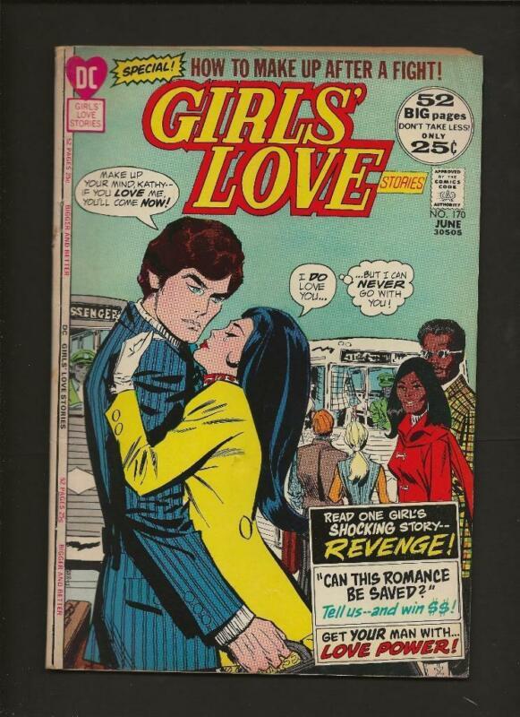 Girls Love Stories 170 VG/FN 5.0 High Definition Scans