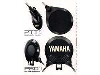 Yamaha retro vintage 1986 electronic kit 7 pads & cables - MEGA RARE Collectable bundle