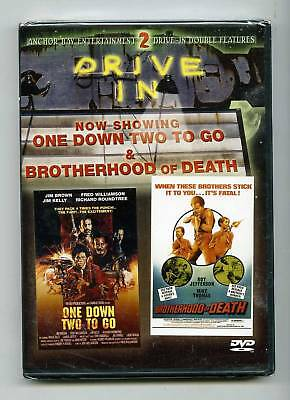 One Down Two To Go   Brotherhood Of Death  Dvd  Anchor Bay Dvd  Brand New