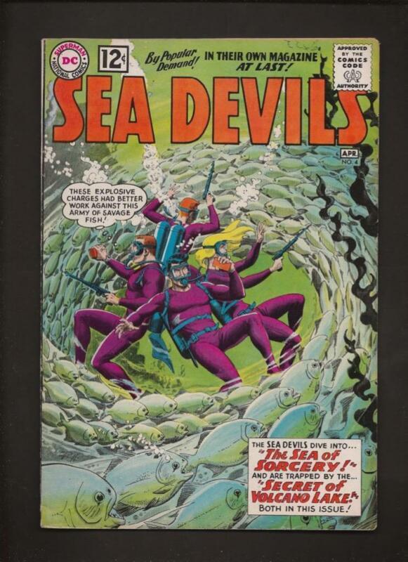 Sea Devils 4 VG+ 4.5 Hi-Res Scans