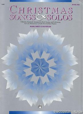 Christmas Songs & Solos 9 Holiday Standards Late Elem - Early Intermed Piano BKI