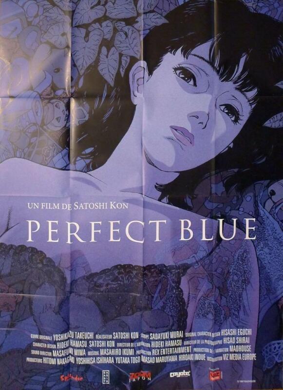 PERFECT BLUE - SATOSHI KON - MANGA - REISSUE LARGE FRENCH MOVIE POSTER