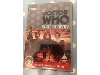 DOCTOR WHO DVDS CLASSIC SERIES £4 EACH