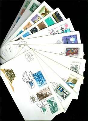 Israel 1965 Complete Year FDC First Day Cover Set