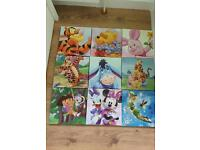 Kids canvases - choice of 9