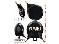 Yamaha retro vintage 1986 electronic kit 7 pads & frame & mounts RARE collectible