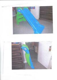 Childs Little Tikes Slide