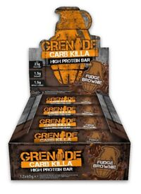 GRENADE CARB KILLA 12x60g BARS HIGH PROTEIN ( COLLECTION ONLY )