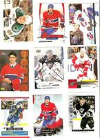 Newfoundland NHL hockey player collection