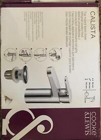 Basin mixer taps