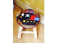 Pirate stool / kids chair