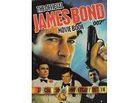 JAMES BOND MOVIE BOOK, SPECIAL 25TH ANIVERSARY EDITION 1987