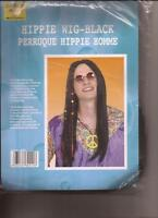 Hippie Black Halloween Wig for Costumes