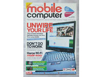 Mobile Computer Magazines - Issues 1 to 8 - (Plus launch edition)