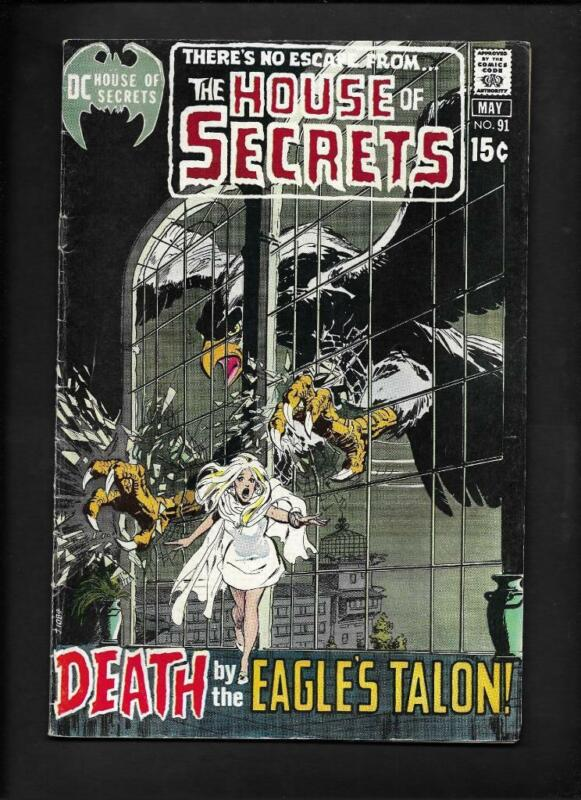 House of Secrets #91 FN- 5.5 High Resolution Scans