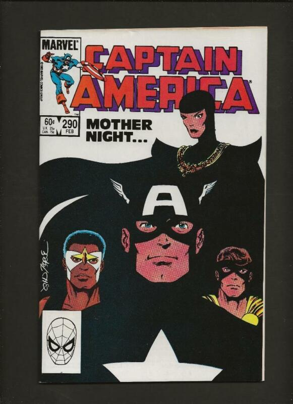 Captain America 290 NM- 9.2 High Definition Scans