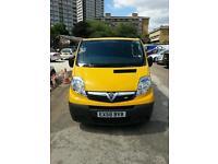 Vauxhall Vivaro; 2008 Yellow color Van. Quick sale