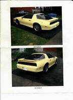 "Trans Am Fire Bird "" Hot Rod Yellow"" PRICE REDUCED"
