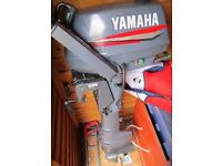 YAMAHA MALTA 3HP LONG SHAFT OUTBOARD MOTOR IN EXCELLENT CONDITION 2001