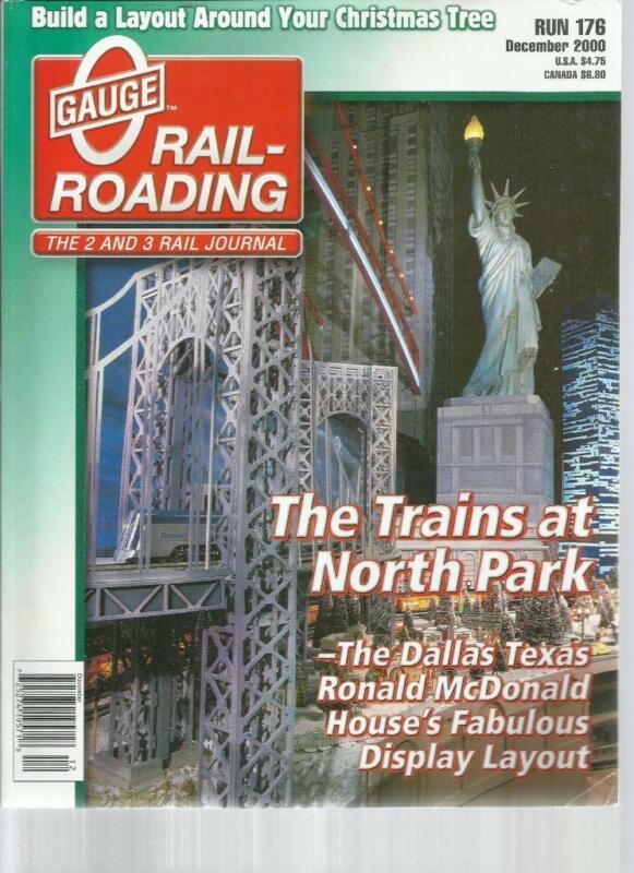 O Gauge Railroading December 2000 Transformer Platform & Vent Stocks Projects