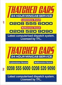 Minicab Drivers/controller required