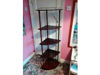 5 shelf whatnot stand good condition