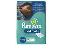Pampers Bed Mats