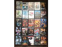69 DVDs