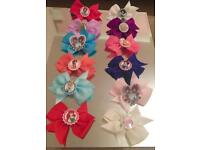 Disney Character Hair Bows